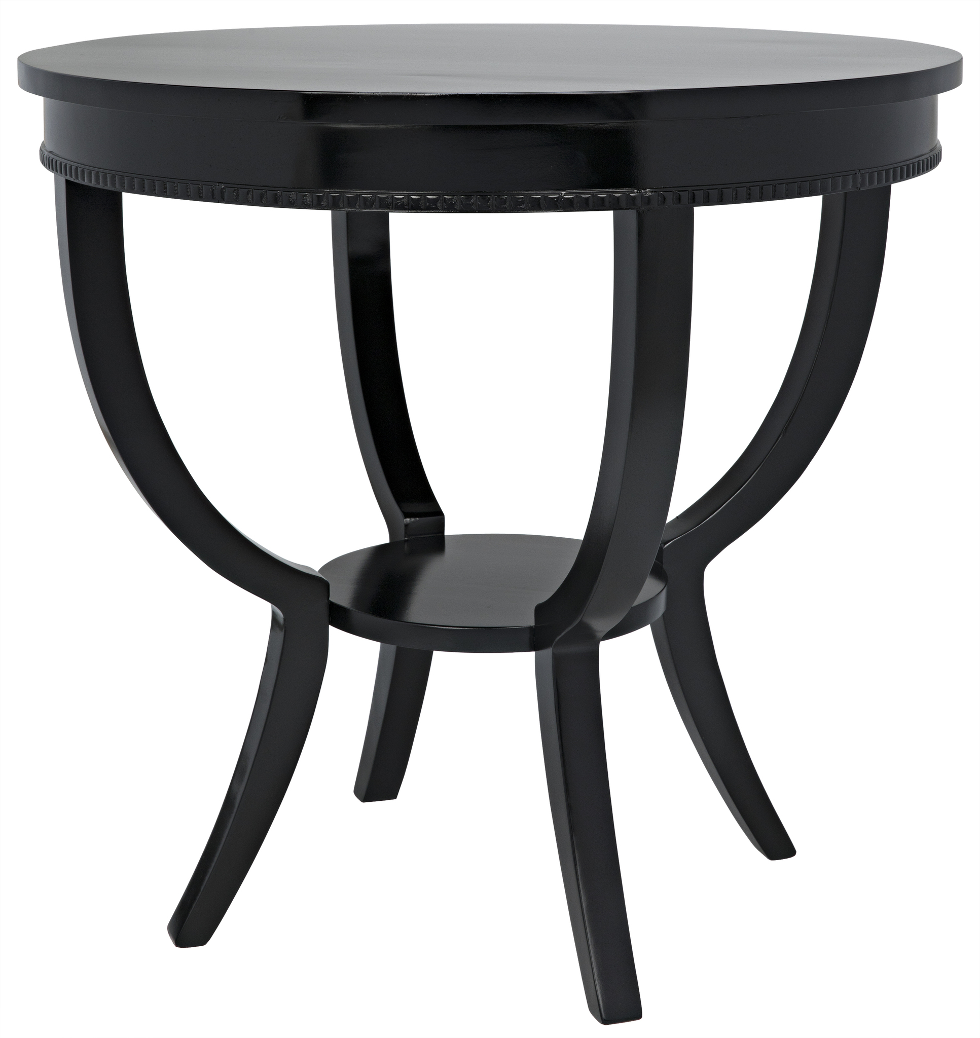 Qs scheffield round end table black accent tables noir download image geotapseo Gallery