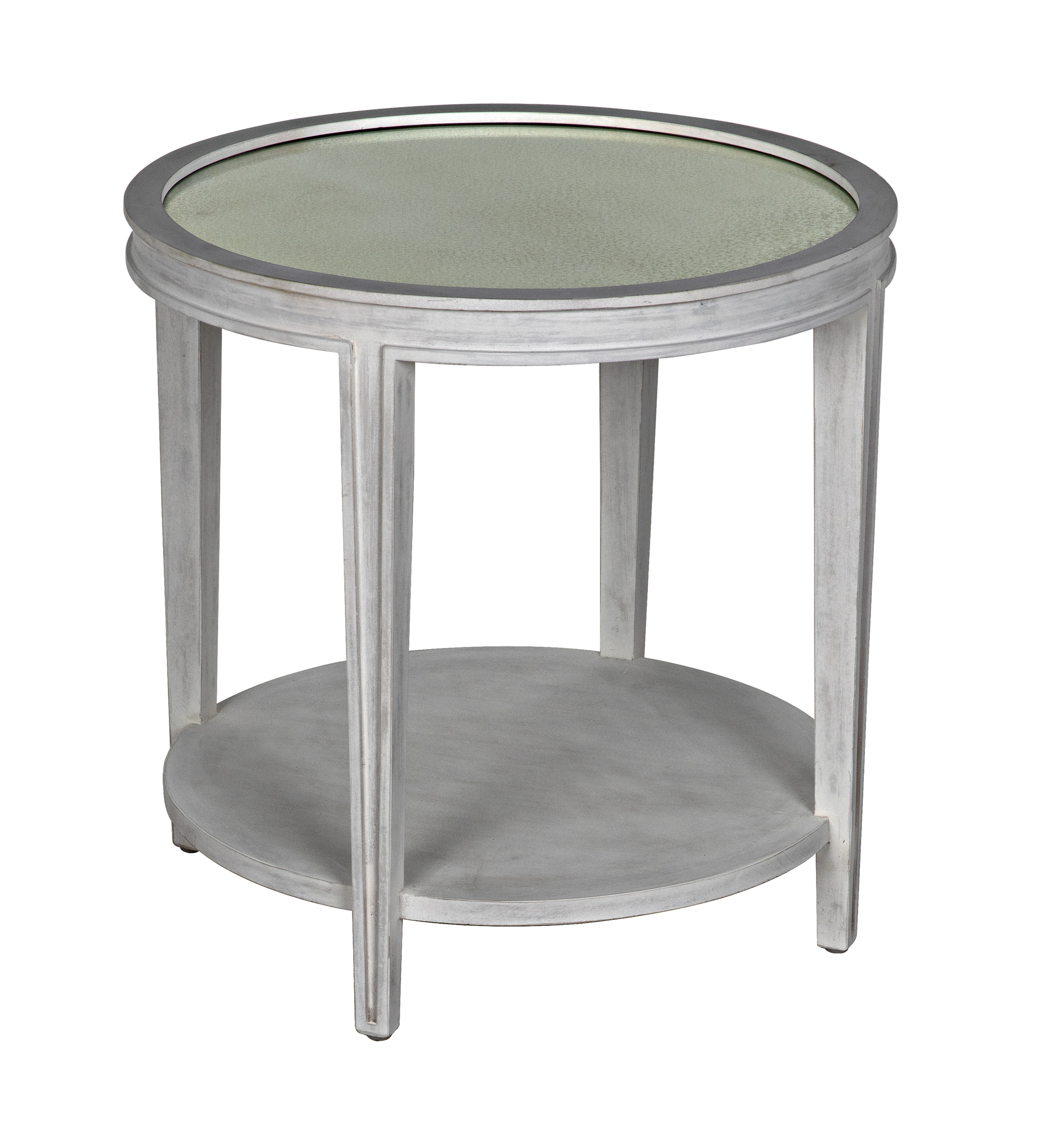 QS Imperial Side Table White Wash accent tables