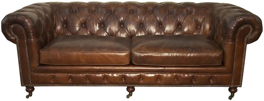 3-Seater Tufted Sofa