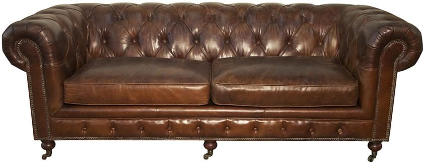 3-Seater Tufted Sofa