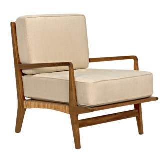 QS Allister Chair, Teak and Rattan