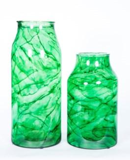 Small Bottle in Aquatic Emerald