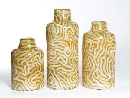 Large Vase in Safari Trails