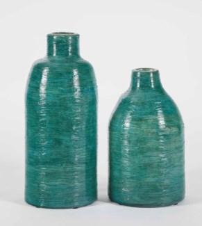 Large Turner Vase in Bella Vista Finish