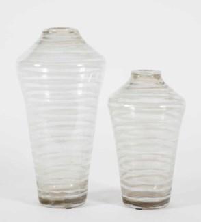 Large Tapered Vase in Glacier Valley Finish