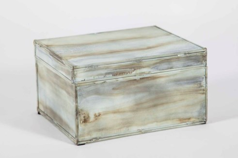 Rectangle Box in Smoke Finish