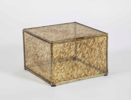 Medium Square Box in Glimmer Finish