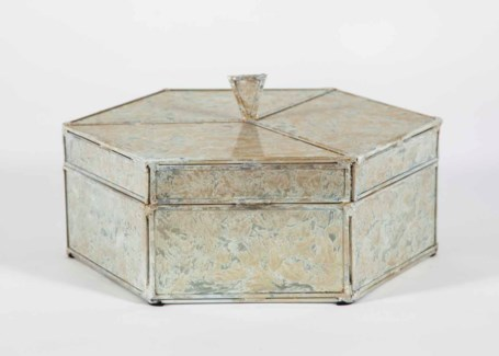 Octagonal Box in Dappled Light Finish