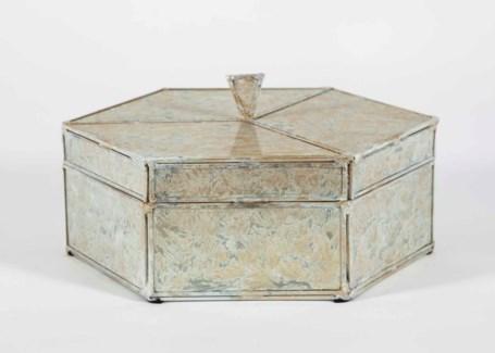 Octagonal Box in Dappled Light Finish