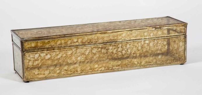 Long Rectangle Box in Glimmer Finish