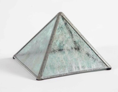 Pyramid in Frosted Sky Finish