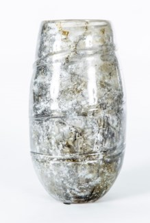 Large Kelly Vase in Granite Dust Finish
