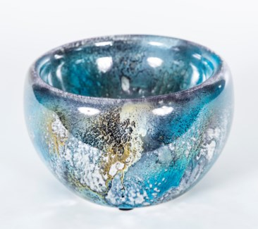 Double Sided Bowl in Wishing Well Finish