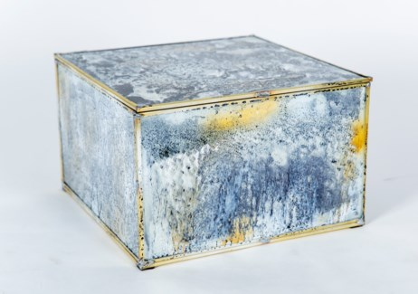 Large Square Box in Reflections Finish