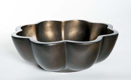 Terracotta Bowl in Cast Iron