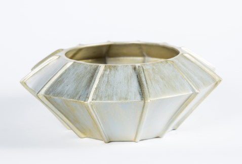 Bowl in Fool's Gold Finish
