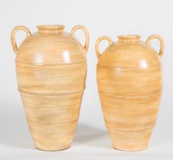 Large Jar in Flaxseed Finish