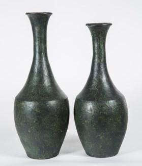 Large Flared Vase in Foothills Finish