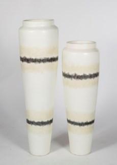 Large Floor Vase in Calico Rock Finish