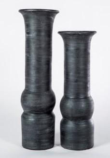 Large Table Vase in Night Owl Finish