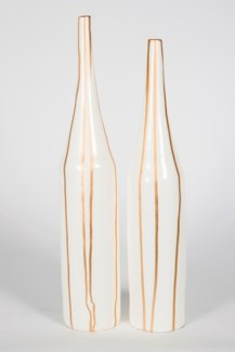 Large Tall Neck Vase in Luminary Finish