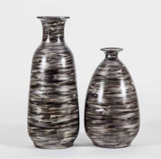 Large Simpson Vase in Quail Feather Finish