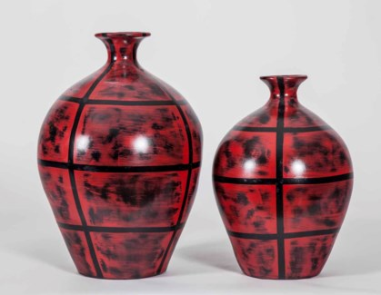 Large Weber Pot in Red Rock Finish