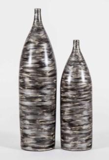 Large Potter Vase in Quail Feather Finish