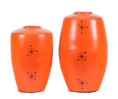 Large Herman Urn in Tangerine Dream Finish