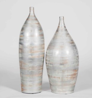 Large Vase in Looking Glass Finish