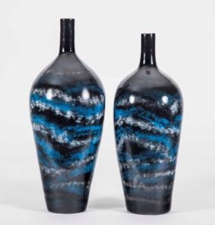 Large Porter Vase in Nocturnal Finish