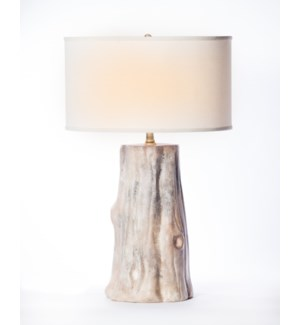 Table lamps prima design source austin table lamp in artifact finish with 18 drum shade in white with aloadofball Image collections