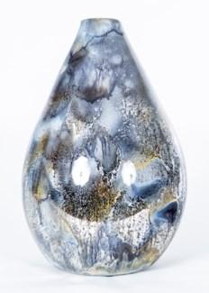 Teardrop Bottle in Looking Glass Finish
