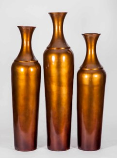 Large Impala Bottle in Gold Crest Finish