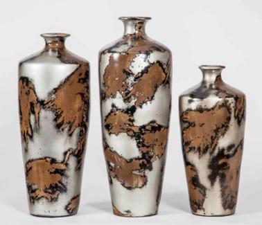 Large Kendrick Vase in Taos Rock Finish