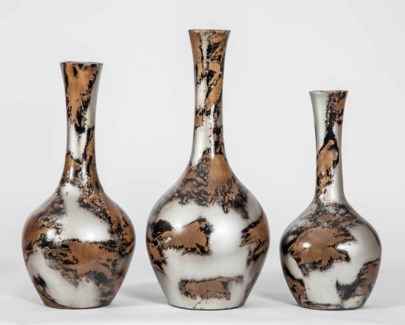 Large Atwell Vase in Taos Rock Finish