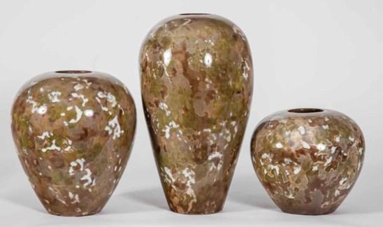 Large Bowen Vase in Camouflage Finish