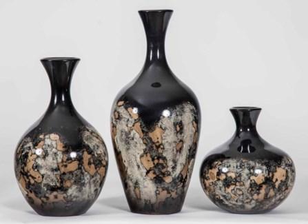 Large Flynn Vase in Rock Quarry Finish