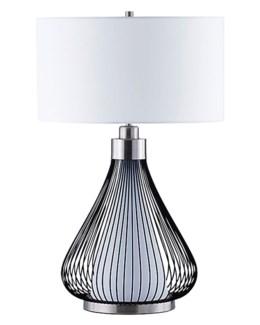 Teardrop Table Lamp Matte Black