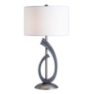 Bass Clef Table Lamp Charcoal Gray