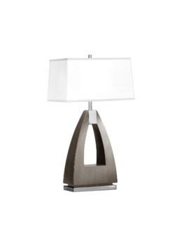 Trina Table Lamp Charcoal Gray
