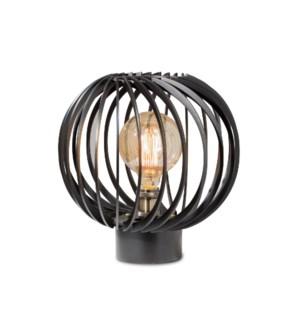Shibuto Accent Table Lamp Matte Black
