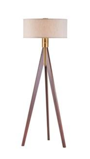 Tripod Floor Lamp Medium Brown