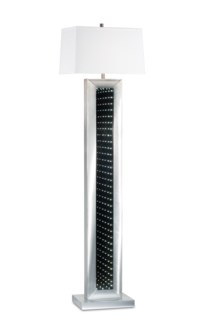 Perpetuum Infinity Floor Lamp Silver