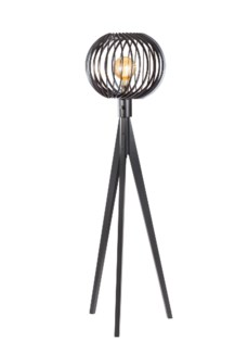 Shibuto Tripod Floor Lamp Matte Black