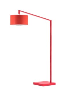 Stretch Chairside Arc Lamp Red
