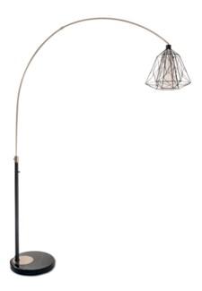 Nest Arc Lamp Black