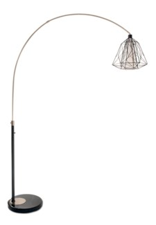 Nest Arc Lamp Black