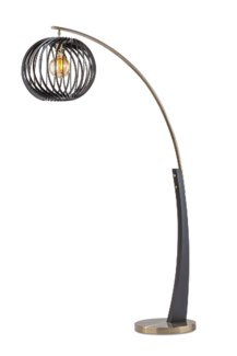 Shibuto Arc Lamp Matte Black