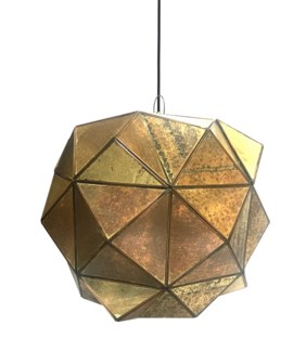Estrella Pendant Antique Gold